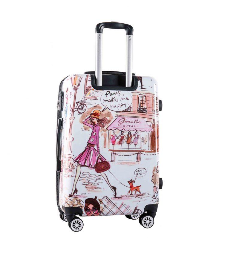 valise cabine pour fille la parisienne