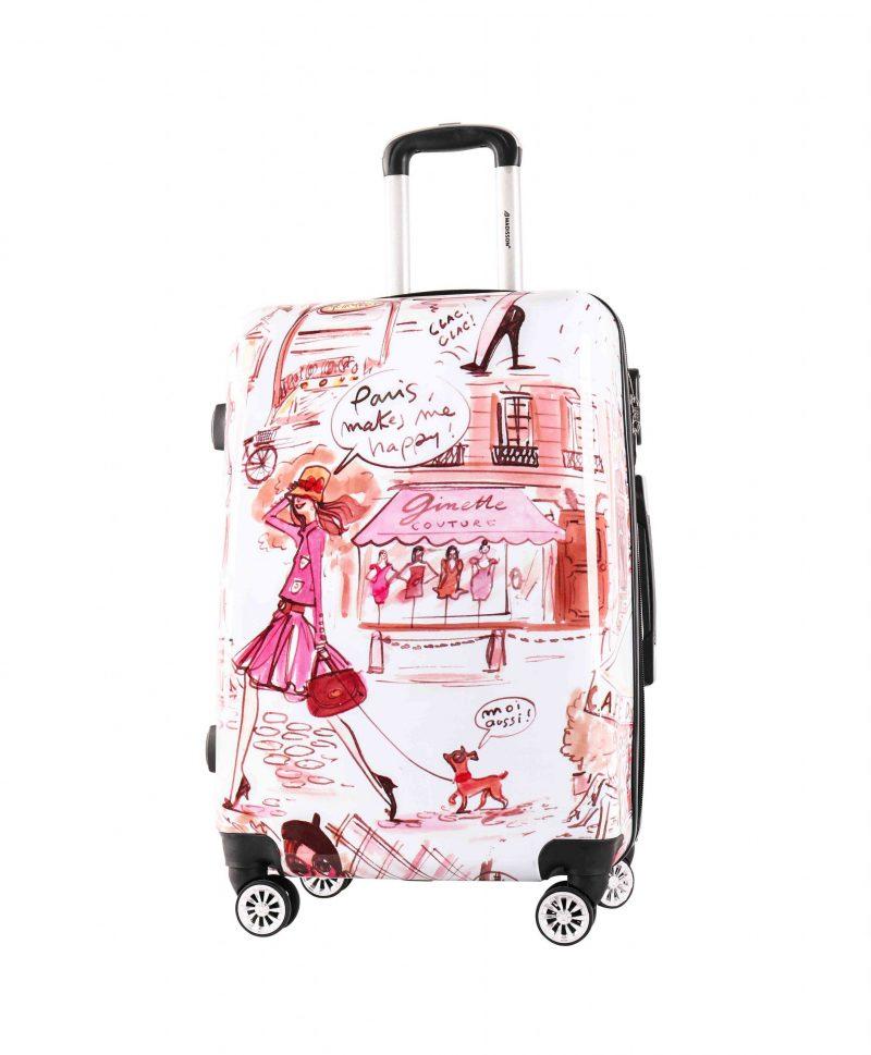 valise cabine rigide fille