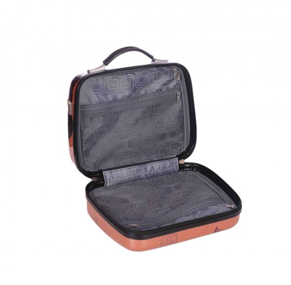 VANITY CASE RIGIDE PAS CHER madisson papillon rose gold