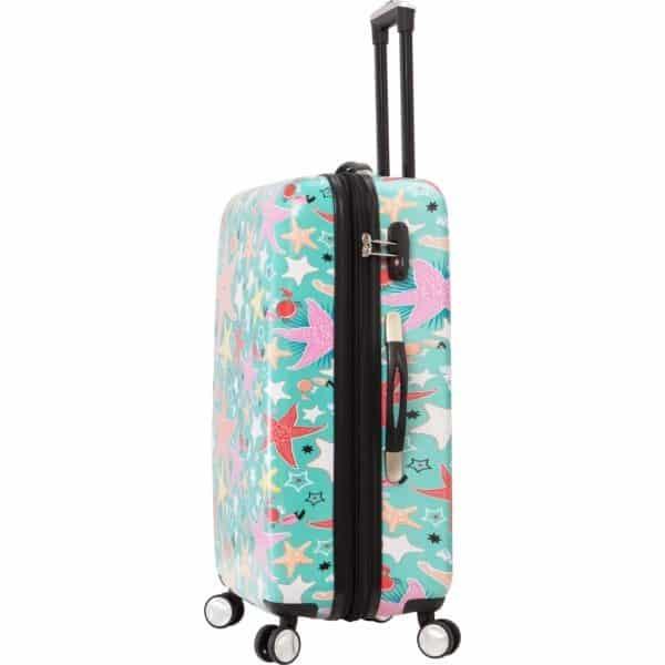 """Ensemble de 3 valises rigides à 4 roues """"Etoiles de mer"""" Snowball"""