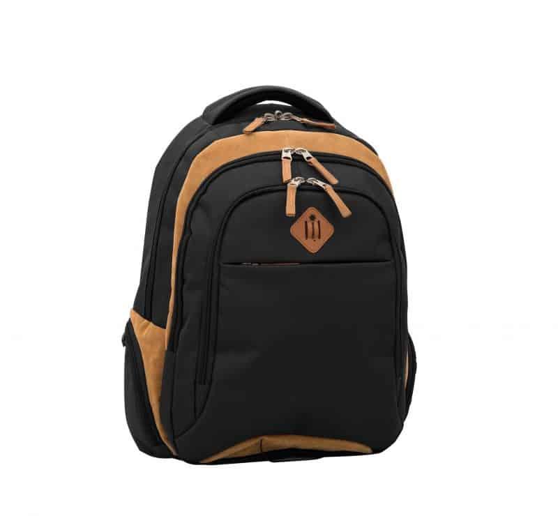 sac à dos pc et scolaire snowball noir