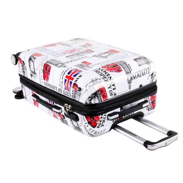 """Set de 3 valises rigides à 4 double roues """" London """" Madisson"""