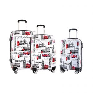 "Set de 3 valises rigides "" London """