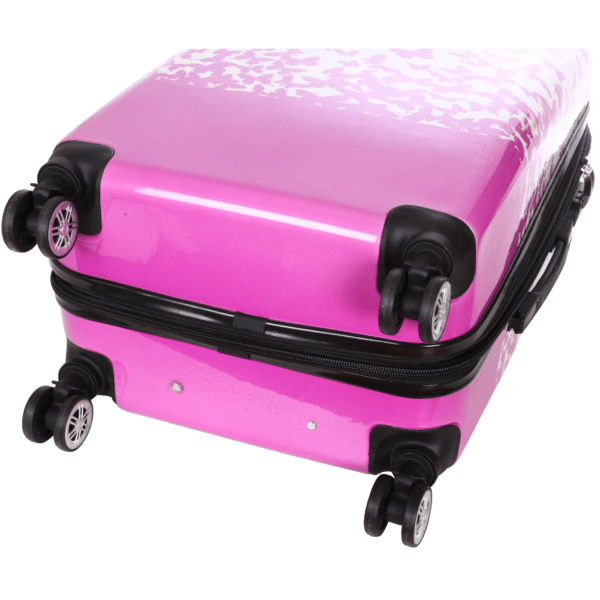 """Valise cabine 4 doubles roues """"Envolée de Papillons"""" Madisson"""