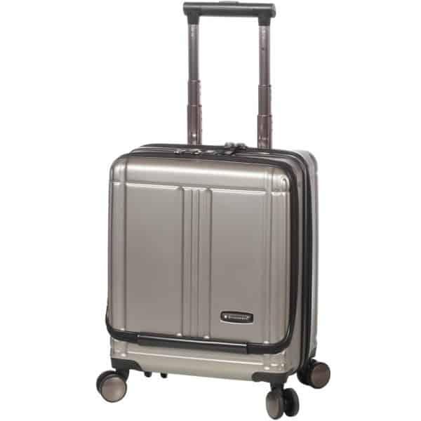 """Valise cabine pilot case trolley couleur champagne pour pc 17"""" Snowball"""