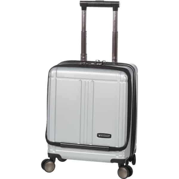 """Valise cabine pilot case trolley gris argent pour pc 17"""" Snowball"""