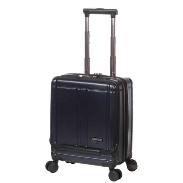 """Valise cabine pilot case trolley bleu pour pc 17"""" Snowball"""