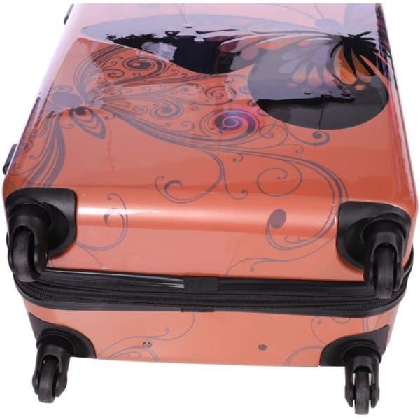 Valise rigide 76 cm extensible à 4 roulettes Rose gold Madisson