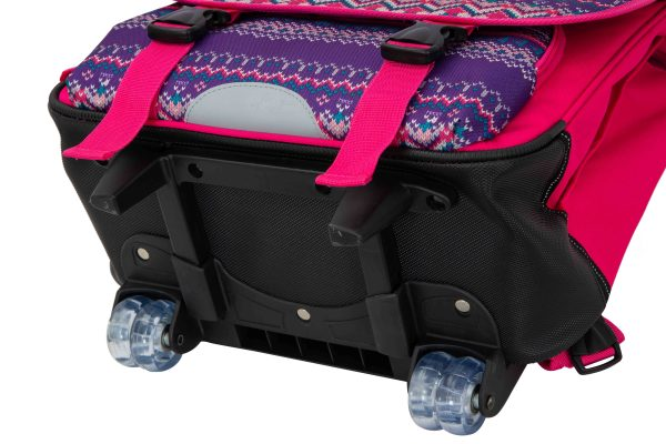 Cartable à roulettes pour Enfant CE2 CM1 CM2 - Snowball.