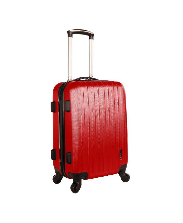 valise cabine pas cher rouge A40002