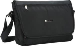 Besace A4 Pc portable noir Snowball