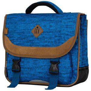 Cartable scolaire CE1 CE2 bleu 38 cm