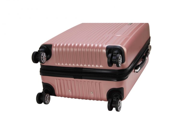 valise rigide cabine pas cher rose snowball A