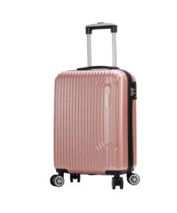 valise cabine rose pas cher 4 roues Snowball