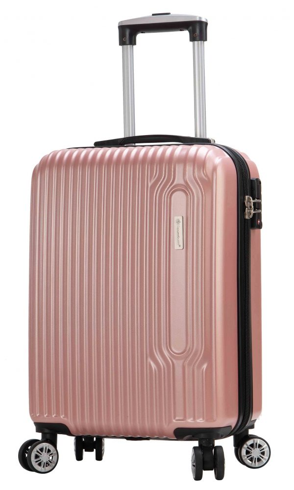 Valise cabine Snowball pas cher rose
