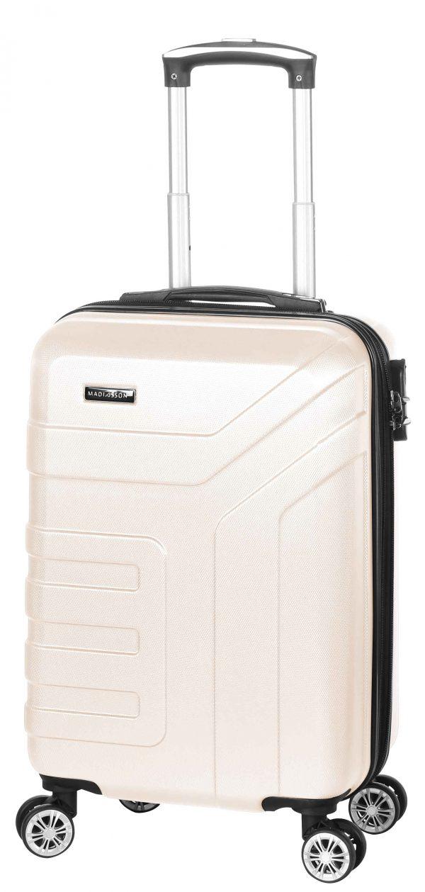 valise cabine Madisson pas cher blanc