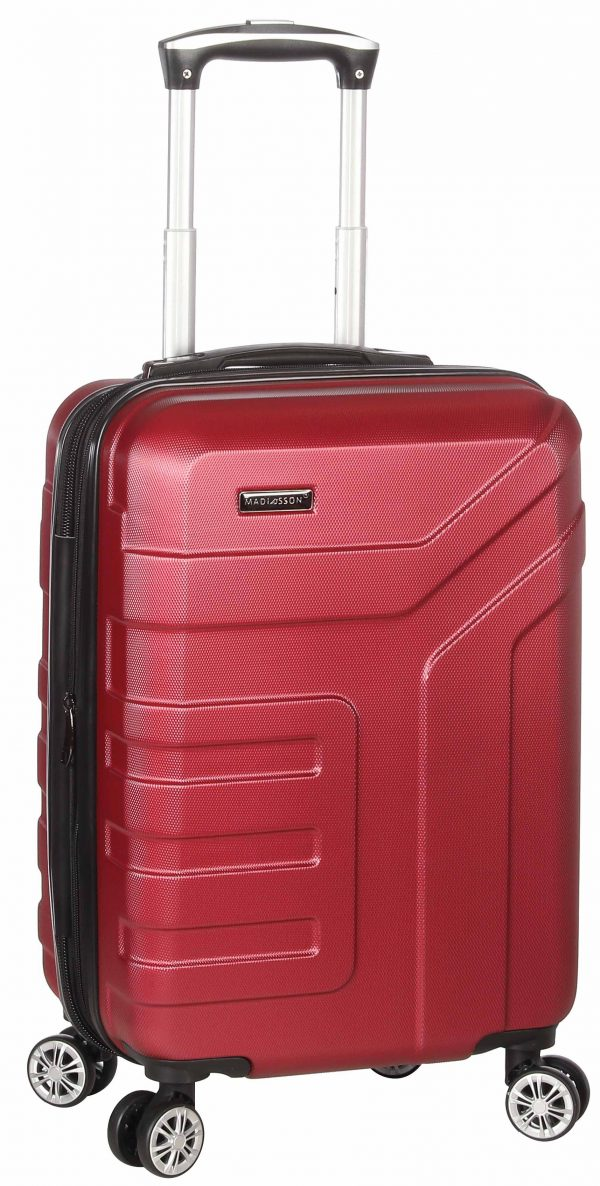valise cabine Madisson pas cher ROUGE