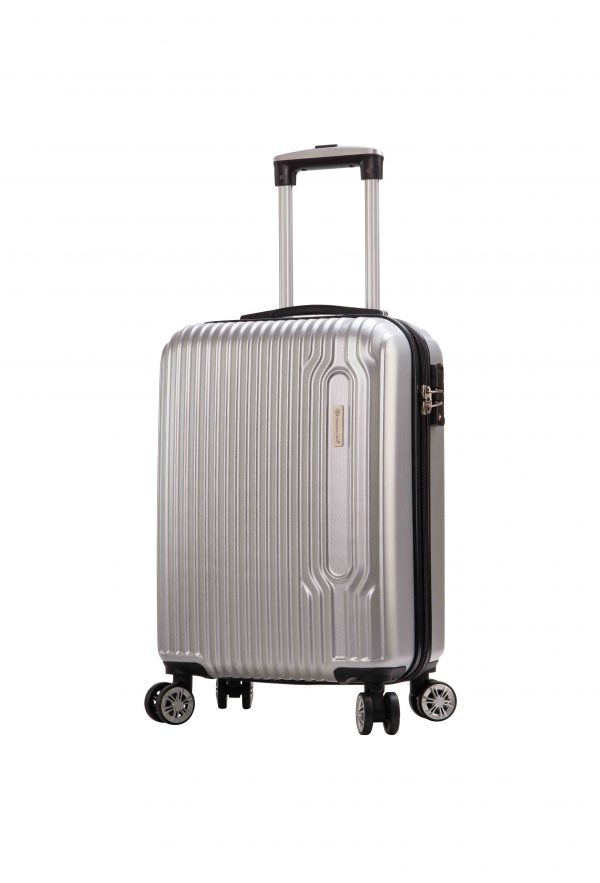 valise-cabine-Snowball-pas-cher-gris-Tsa