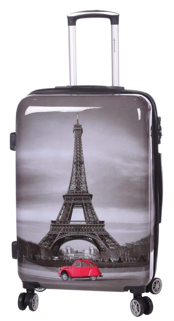 Set de 3 valises Paris Tour Eiffel