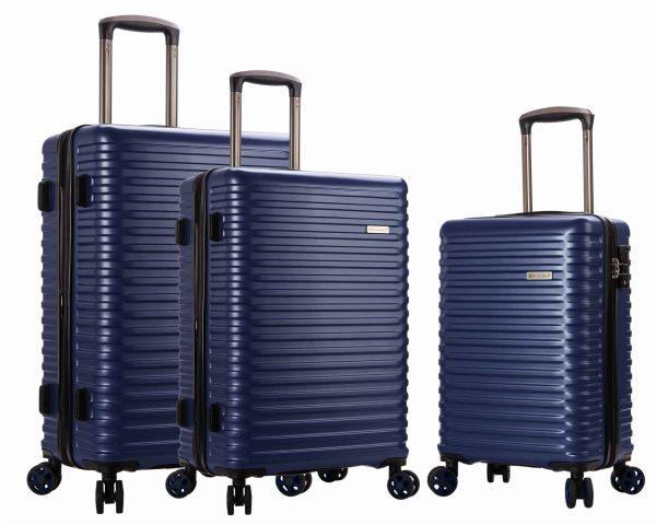ENSEMBLE DE 3 valises Snowball pas cher BLEU