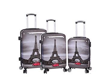 ensemble de 3 valises rigides pas cher Madisson