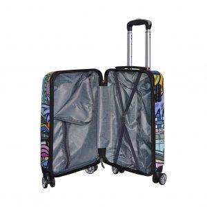 """Set de 3 valises rigides """"Miami Beach"""""""