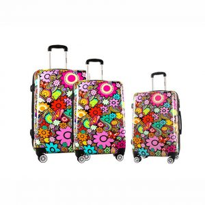 Lot de 3 valises 55, 66, 76 cm Madisson