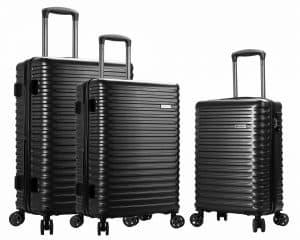 ensemble de 3 valises Snowball noir