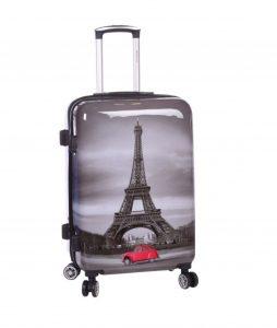 valise cabine rigide 55 cm paris tour eiffel