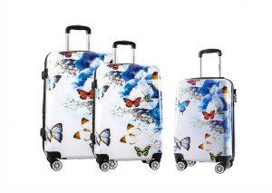 ENSEMBLE de 3 valises S M L pas cher madisson 12