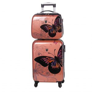 set valise et vanity case gold 02002