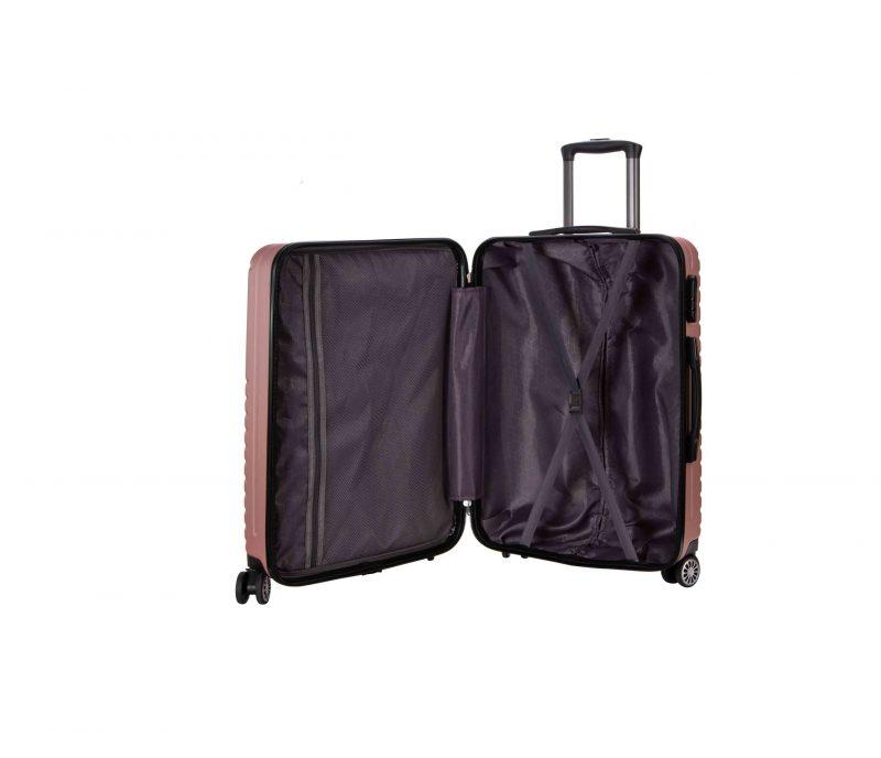Valise cabine rigide 55 cm madisson pas cher poches