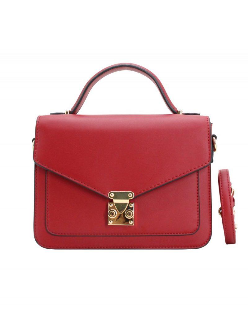 sac bandoulière pour femme rouge pas cher 282134