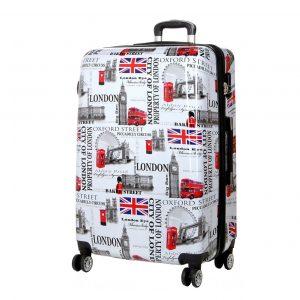 "Valise rigide 75 cm 4 roues ""London"""