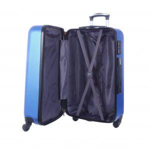 """Ensemble de 3 valises 4 roues """"Bornéo"""""""