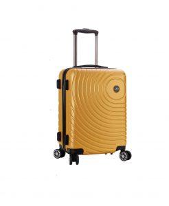 valise cabine rigide pas cher madisson jaune