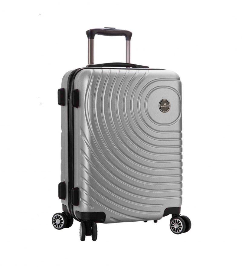 valise 65 cm pas cher madisson gris