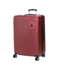 valise rigide 75 cm pas cher rouge madisson 93303R