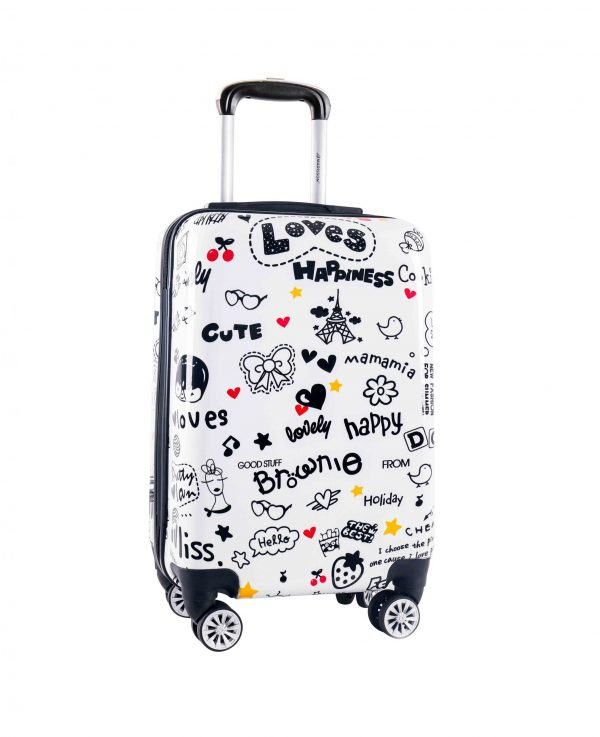 "Valise cabine ""Loves Happiness"""