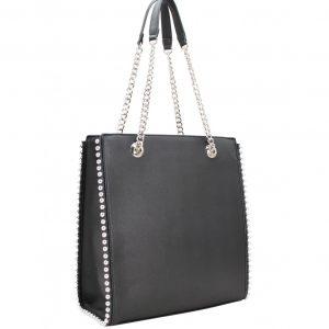 Grand sac à main A4 à chaînettes