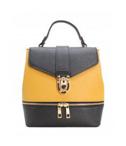 vente petit sac à dos NOIR jaune 282195