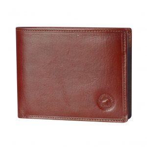 Portefeuille en cuir petit format pour homme