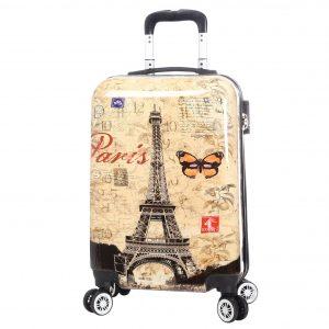 """Valise cabine 55 cm """"Paris rétro"""""""