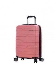 Valise cabine rose rigide snowball pas cher 96103 A