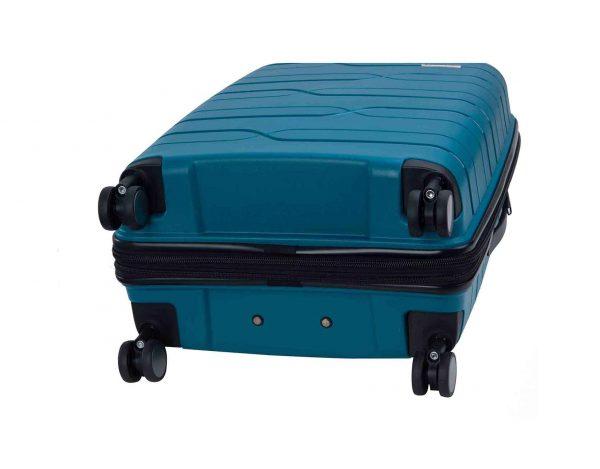 ensemble de 3 valises rigides pas cher Snowball bleu 96103 A