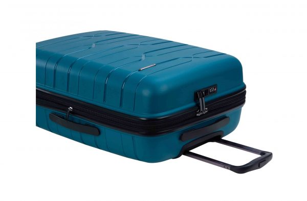 valise cabine rigide 50 cm snowball bleu pas cher 96103