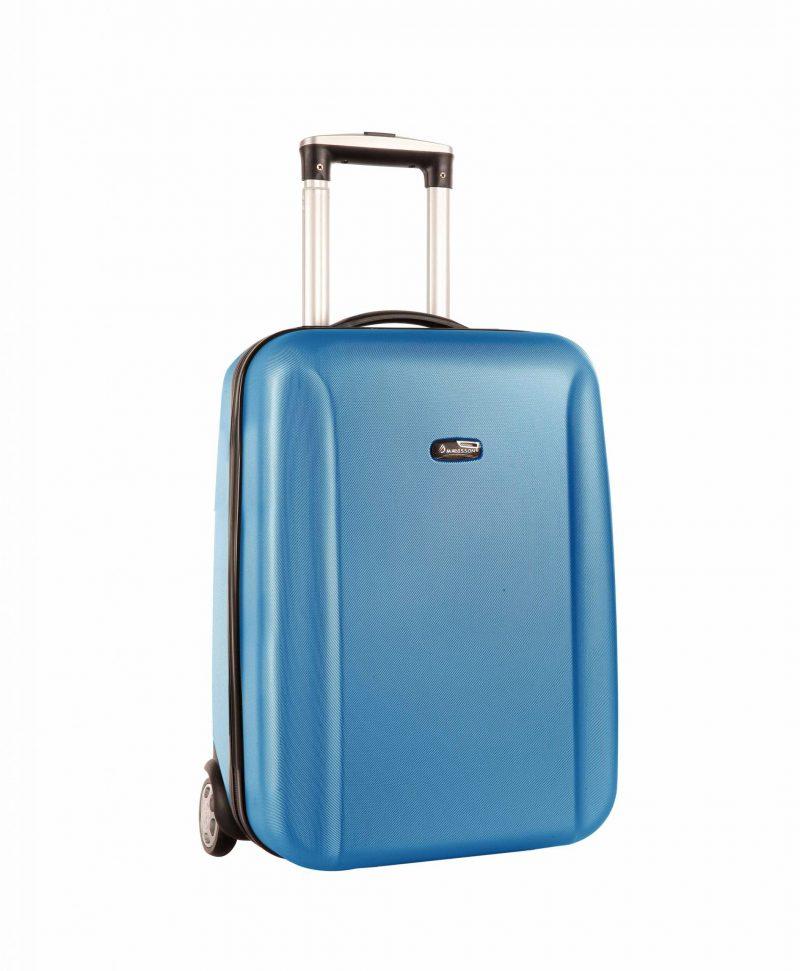 Valise cabine 2 roues 50 cm Madisson pas cher bleu 42902-1