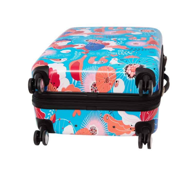 Valise cabine 4 roues doubles snowball 85803