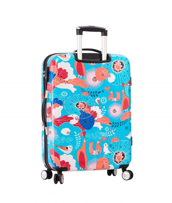 Valise cabine 4 roues doubles snowball 85803r