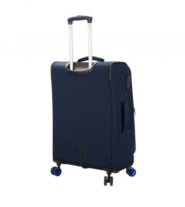 Valise cabine souple 55 cm Snowball Snow-Lite bleu 81603 pas cher